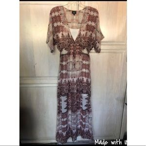 Used maxi dress size s/p